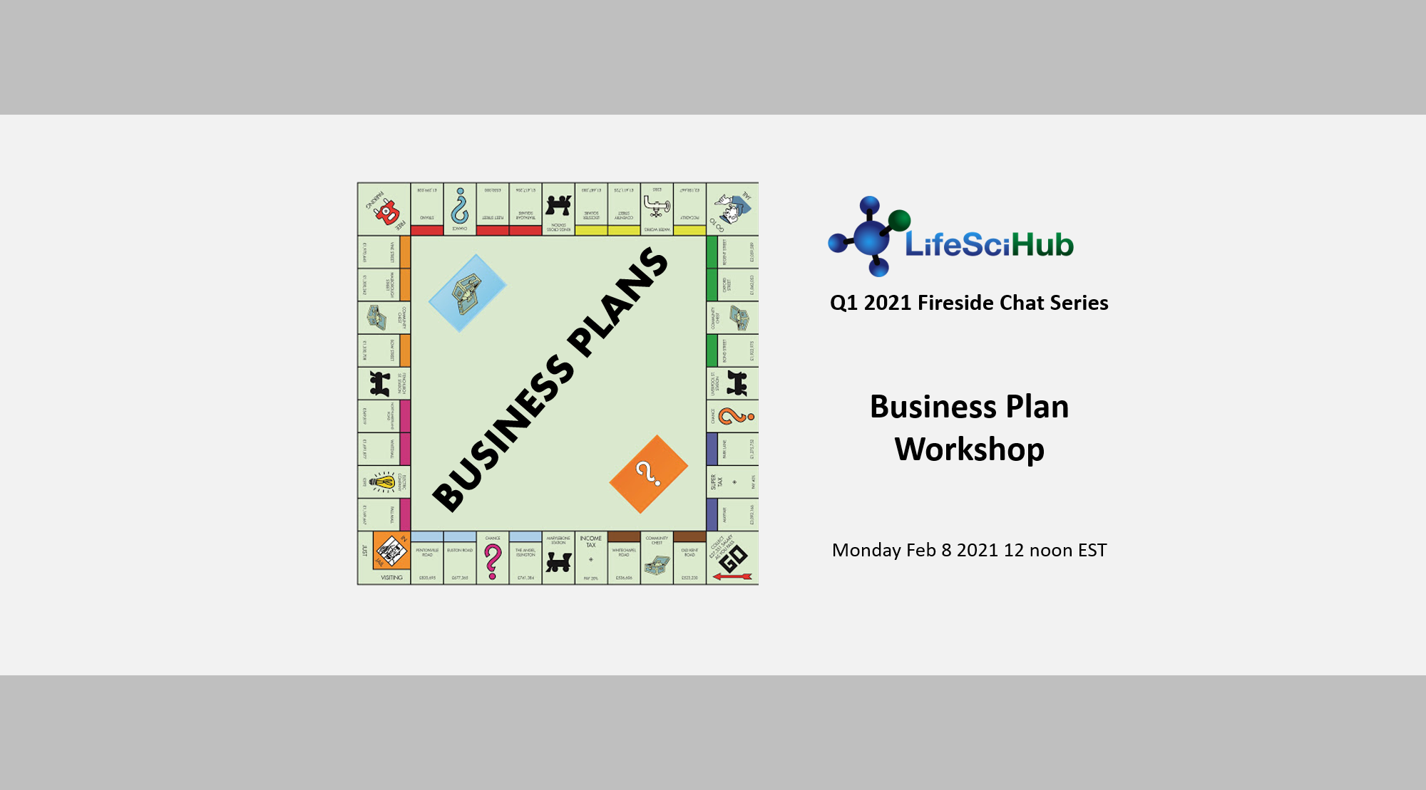 LifeSciHub Fireside:  Business Plan Workshop