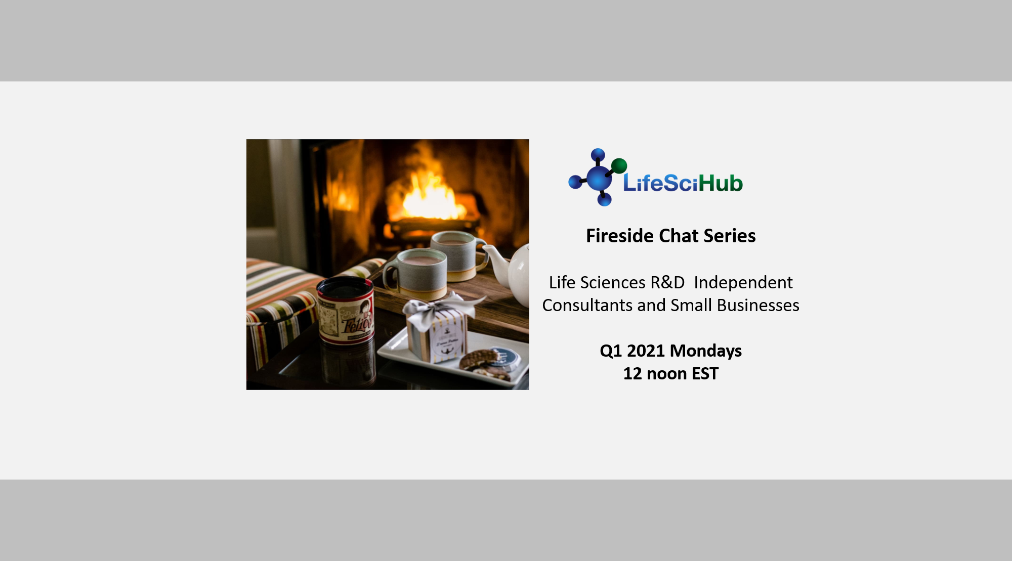 LifeSciHub Fireside Chats for Independent Consultants and Small Businesses