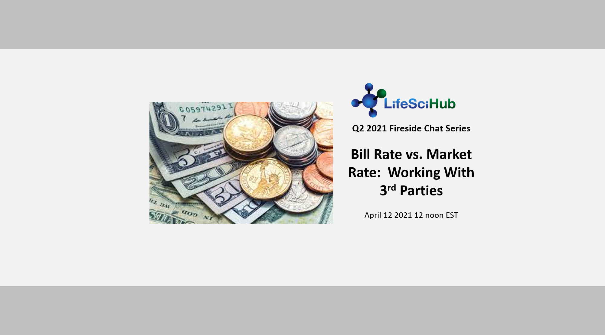 Bill Rate vs. Market Rate:  Working With 3rd Parties