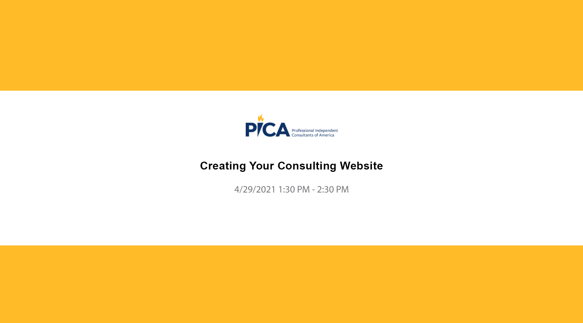 Creating Your Consulting Website