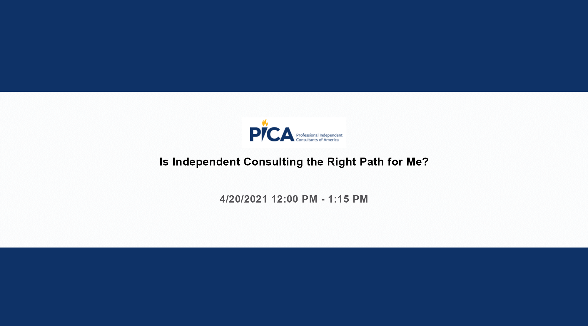 Is Independent Consulting the Right Path for Me?