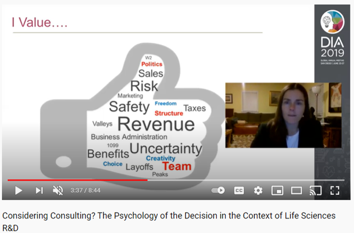 Considering Consulting?  The Psychology of the Decision