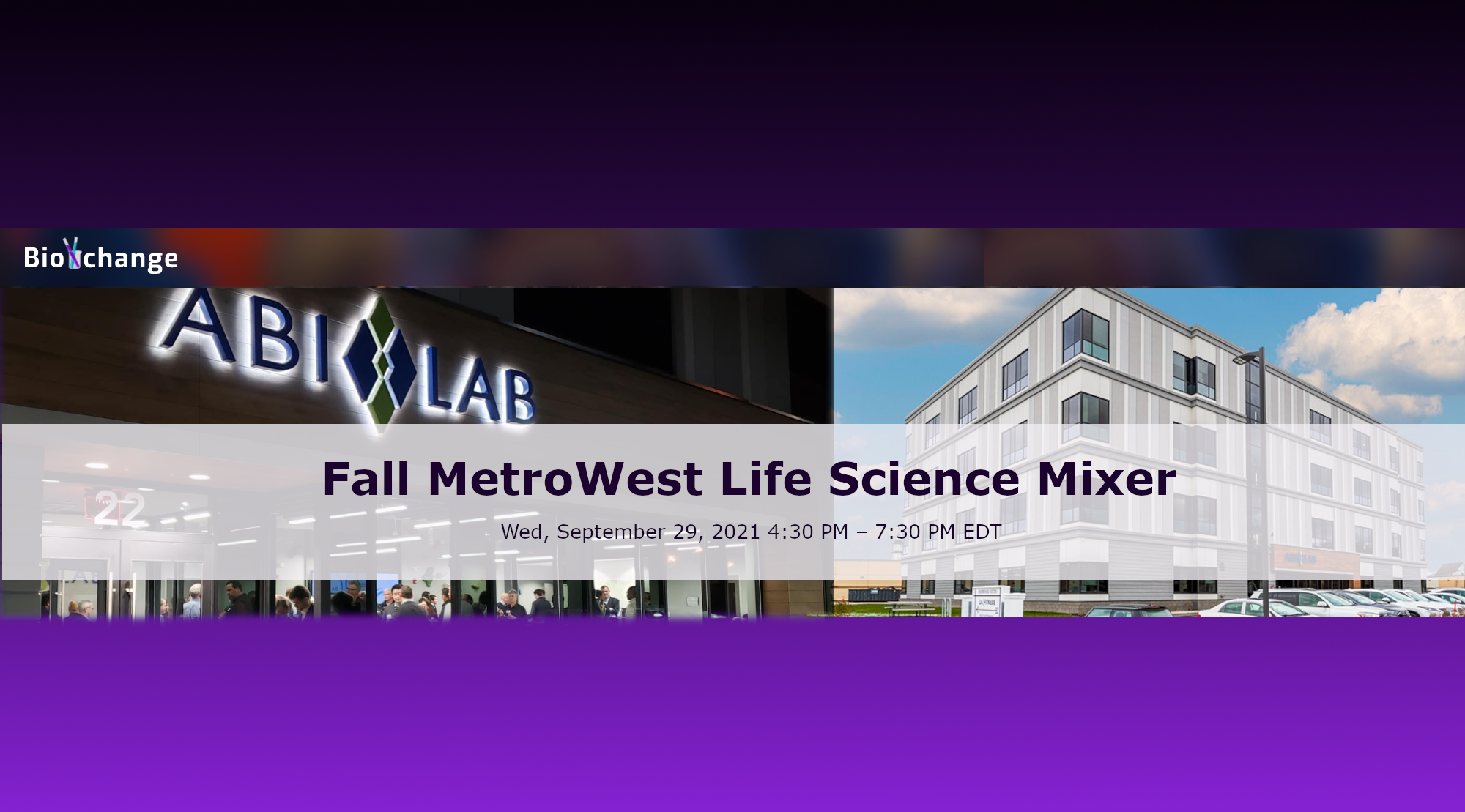 Fall MetroWest Life Science Mixer